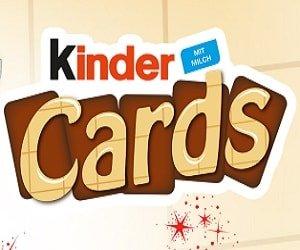 Kinder Cards Gratisprobe