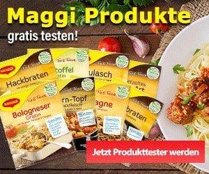 Maggi Produkttest