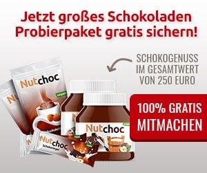 NutChoc Schokoladenprobierpaket