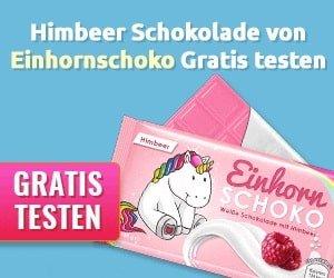 Himbeer Schokolade gratis