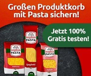 Pasta Produktprobe