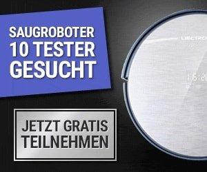 Saugroboter testen