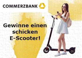Commerzbank E-Scouter Gewinnspiel