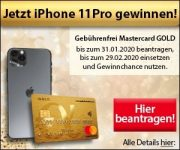 Advanzia Bank: iPhone 11 Pro gewinnen