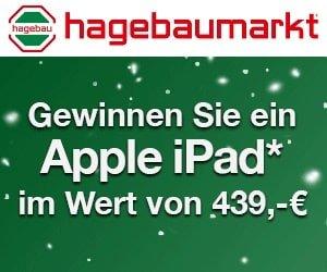 hagebaumarkt Apple Ipad Gewinnspiel