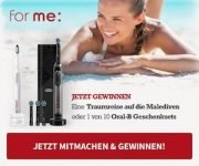 for me: Produktverlosungen & tolle Aktionen