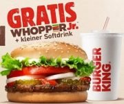 BURGER KING: Gratis Whopper