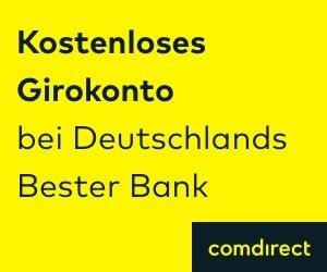 Gratis Girokonto comdirect Bank