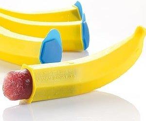 Pearl: Silikon-Formen Eis Banane