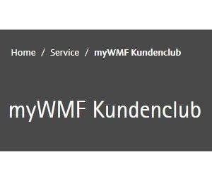 myWMF Kundenclub