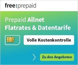 Prepaid-Freikarte