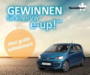 BurdaDirect VW e-up Gewinnspiel
