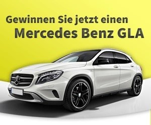 Mercedes GLA Gewinnspiel