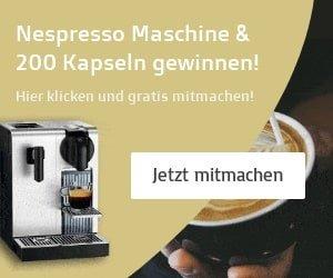 Nespresso Gewinnspiel