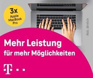 Telekom MacBook Gewinnspiel