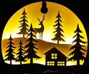 PEARL LED-Echtholzbilder