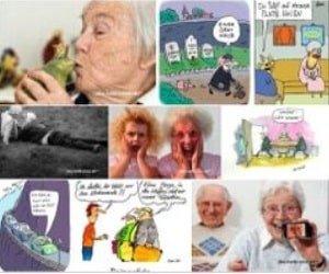 Altersbilder Postkarten