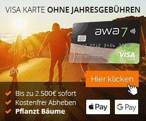 awa7 Kreditkarte