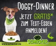 Doggy-Dinner GRATIS Test-Essen