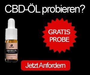 CBD-Öl Gratisprobe