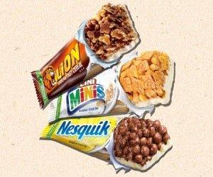 Cerealien-Riegel Probieraktion