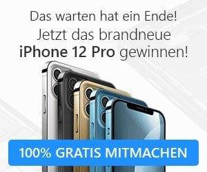 iPhone 12 Pro Gewinnspiel