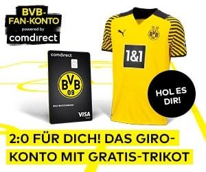 comdirect BVB Aktion