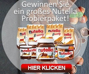 Gratis Nutella Probierpaket