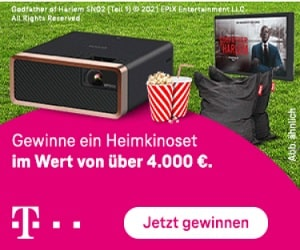 Telekom Outdoor-Kino Gewinnspiel