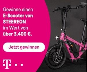 Telekom E-Scooter Gewinnspiel